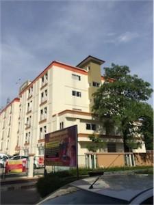 借りていたアパート「タイ・中部」(撮影2014年7月時点)